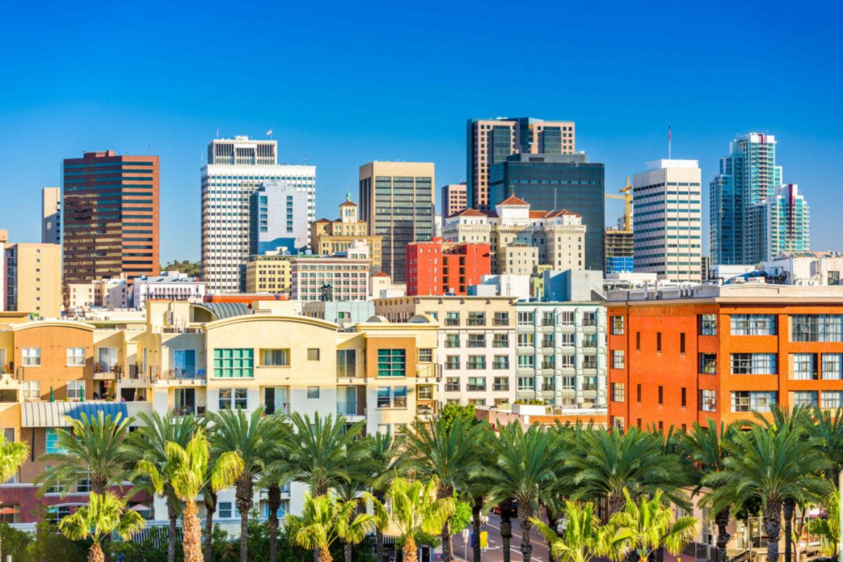 USA San Diego skyline
