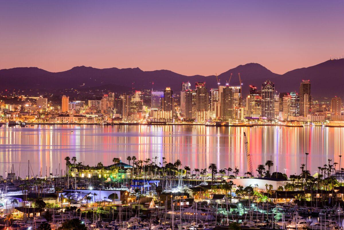 USA San Diego skyline2