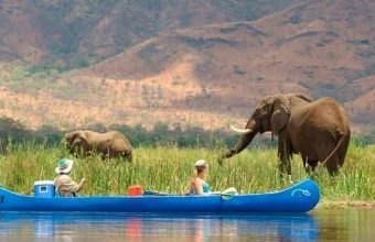 Lower Zambezi Canoeing and Kafue National Park Safari