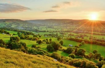 Sunset over the Dales