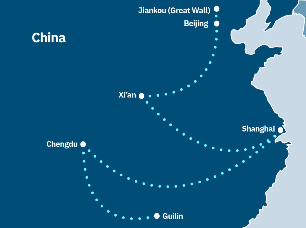 China overland