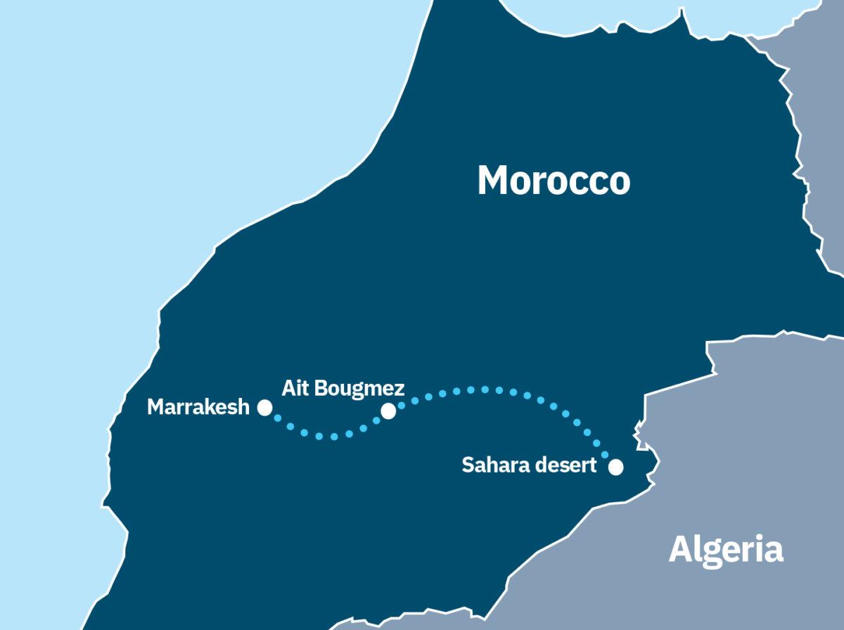 Marrakesh and the Sahara