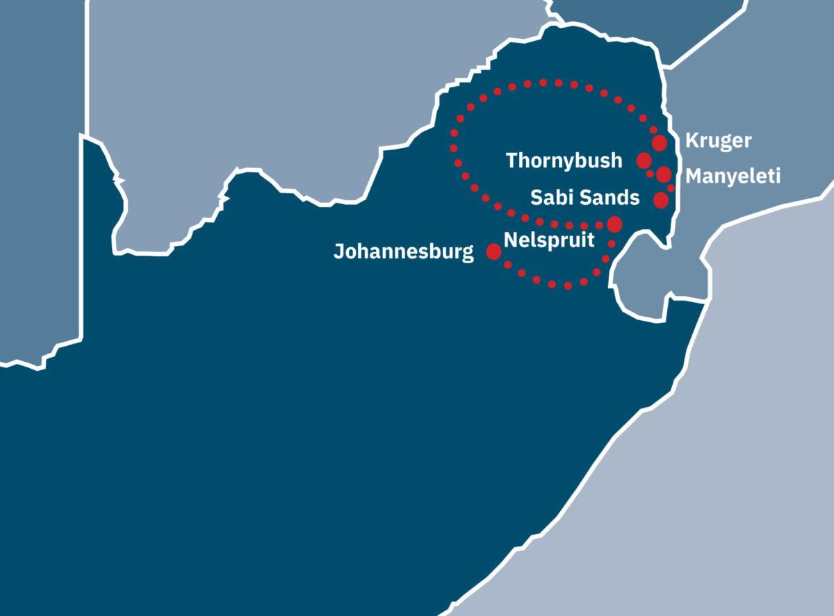 Jo'burg, Kruger and Sabi Sands