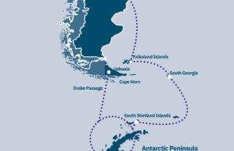 Antarctica, South Georgia & Falklands