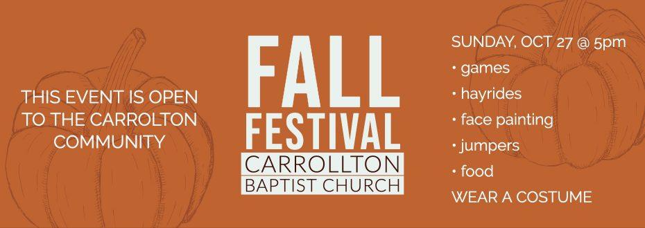 Fall Festival CBC 2019