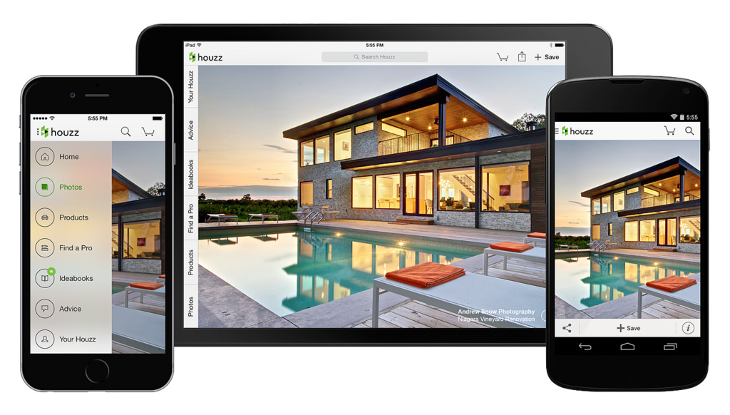 Image result for houzz mobile app