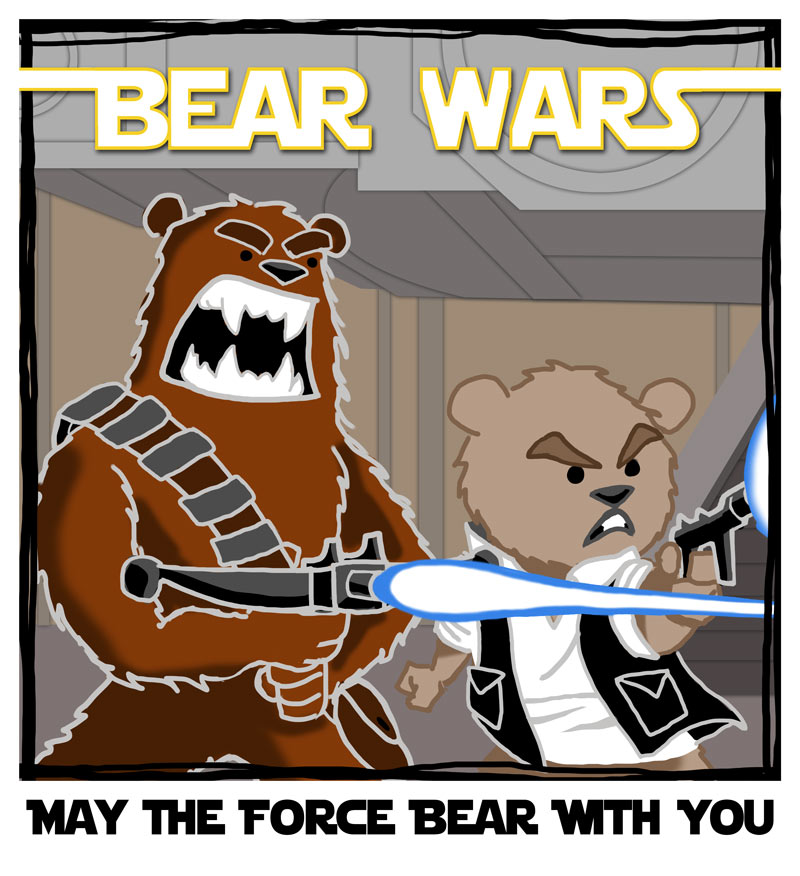 Bearly Star Wars 				<!-- add social buttons here --> 				<style> 					area {display:none;} 				</style>  				<div id=
