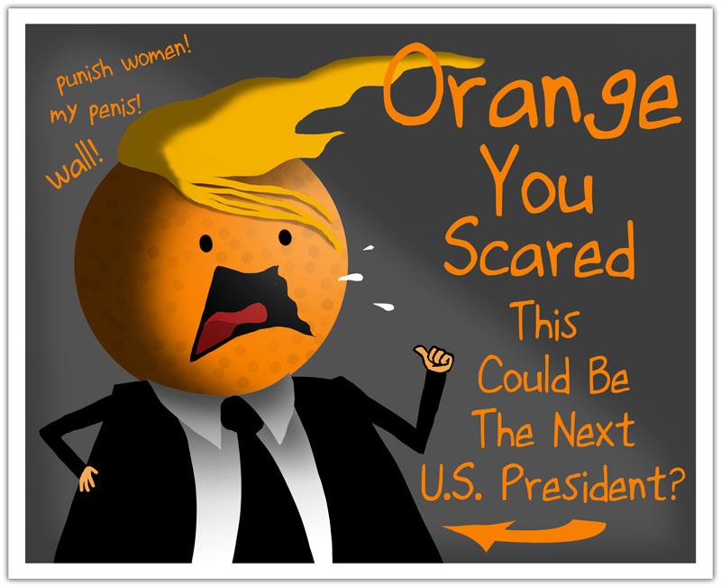 Orange you scared?
