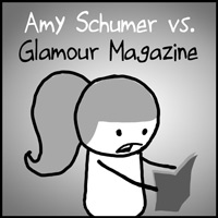Amy Schumer Glamour Magazine Plus-Size Apology