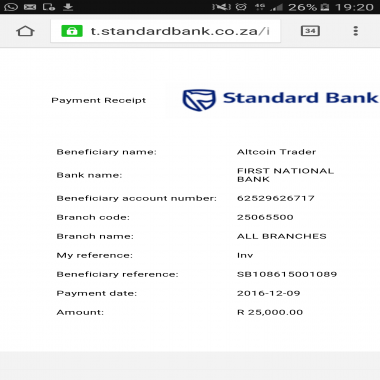 Responded Disappointed With Standard Bank Standard Bank On