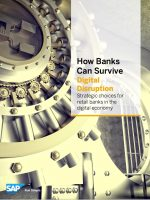 How Banks Can Survive Digital Disruption