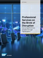 Professional Services on the Brink of Disruption