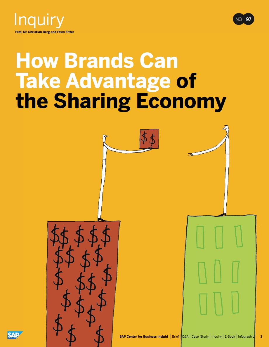 How Brands Can Take Advantage of the Sharing Economy