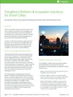 ThingWorx Platform & Ecosystem Solutions for Smart Cities