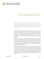 The Five Stages of IoT