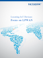 Locating IoT Devices: Focus on LPWAN