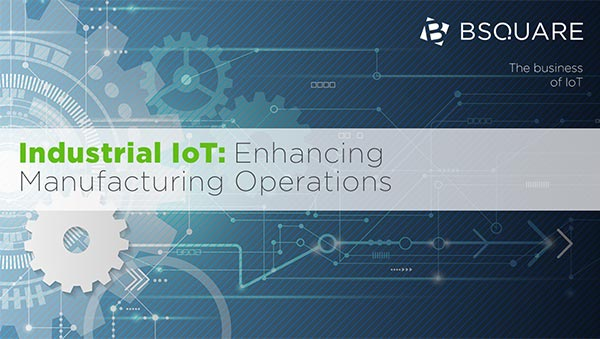 Industrial IoT: Enhancing Manufacturing Operations