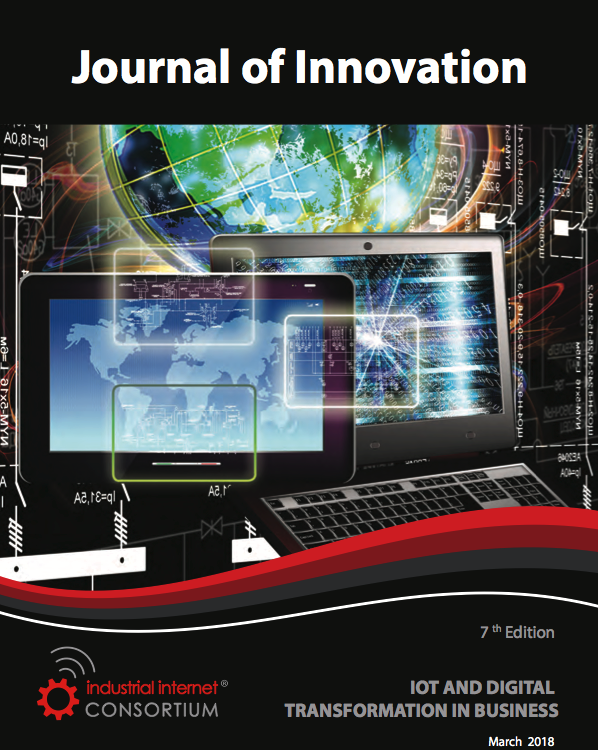 Industrial Internal Consortium Journal of Innovation: IOT and Digital Transformation in Business