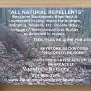 "Vaughn's Nursery ""Keystone Backwoods Repellents"""