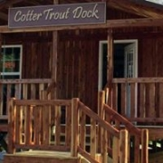 Cotter Trout Dock