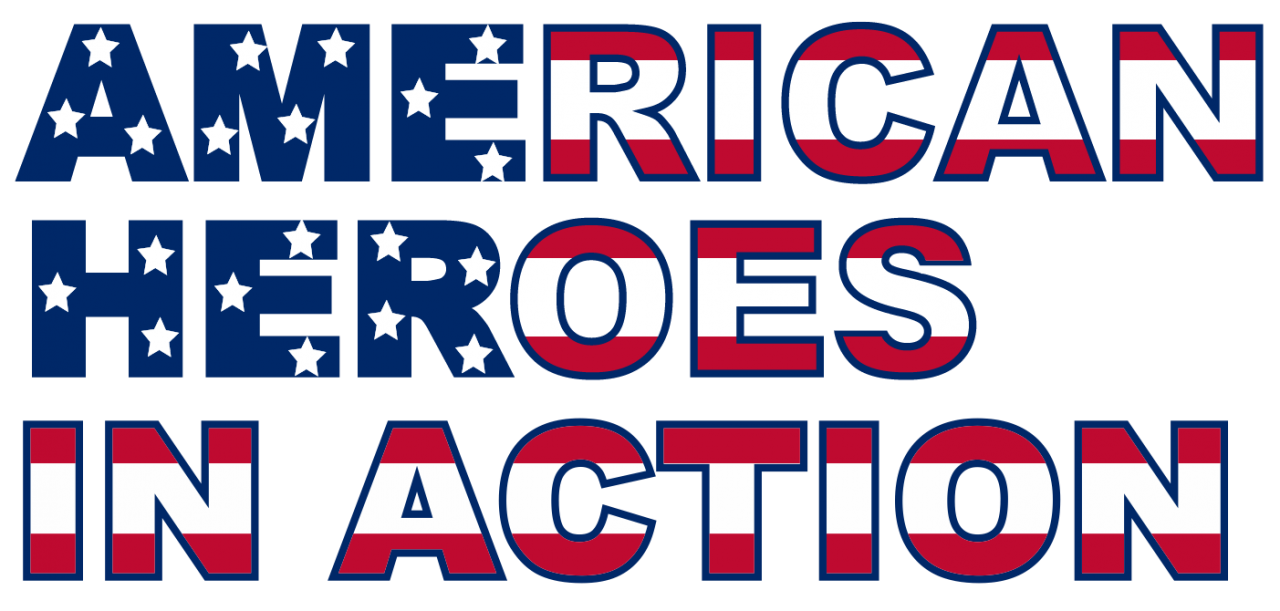 American Heroes In Action 1 logo