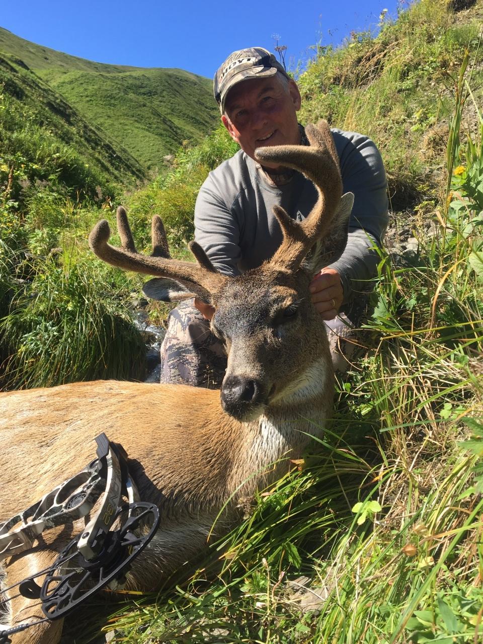 Kodiak Sitka Blacktail With Hunt Alaska Outfitters 2019-01-23