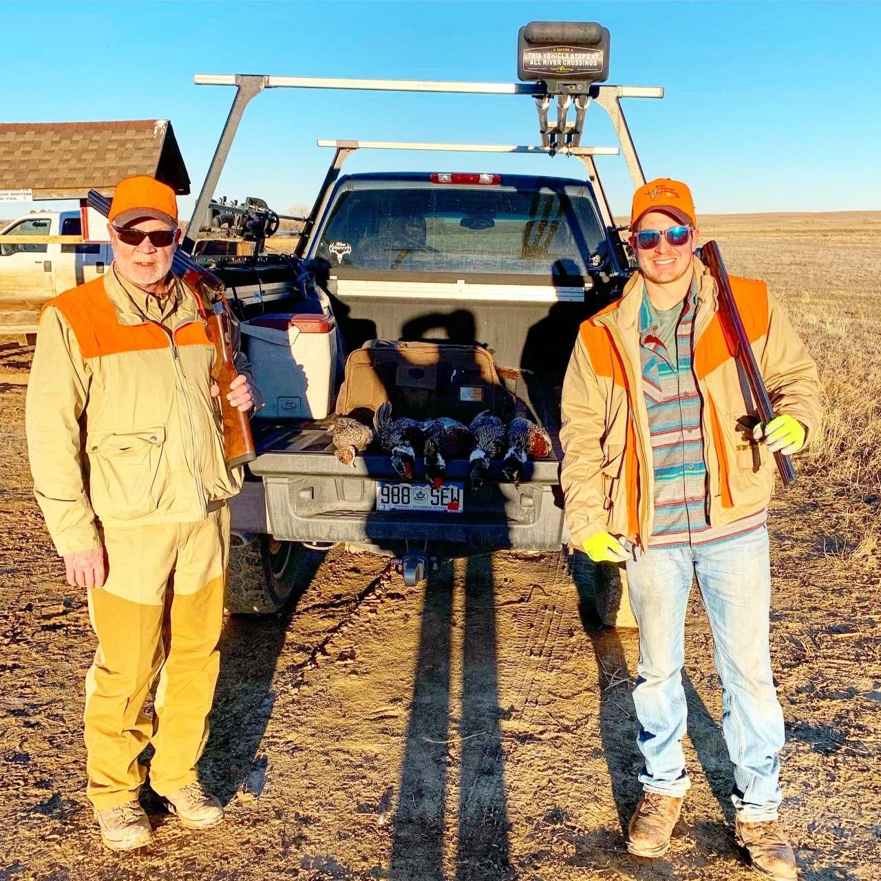 Untitled 2019-01-21 - Pheasant hunting with my son Kyle