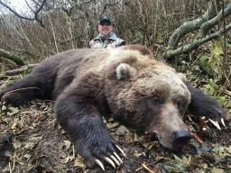 Kodiak Brown Bear with Hunt Alaska Outfitters 2019-01-21