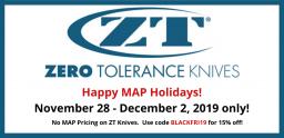 Zero Tolerance MAP Holiday Slide