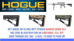Hogue Butt Stock Sale