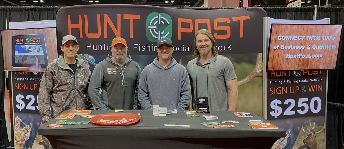 HuntPost Booth - ISE Denver, Co Jan 2020