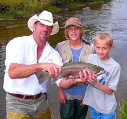 Fly Fishing the Big Creek 2018-01-17