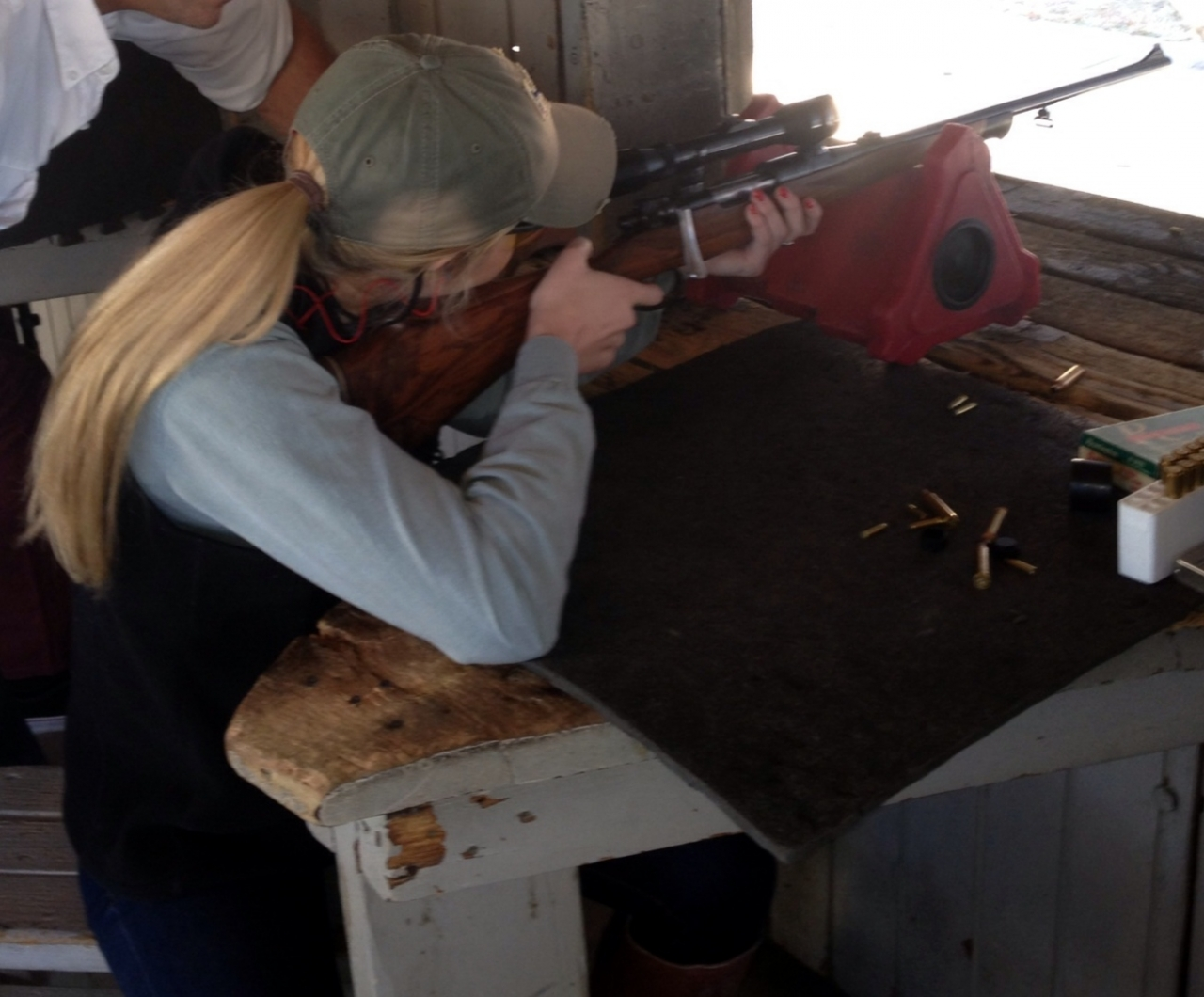 Gifted 6mm rifle to my daughter 2018-01-17
