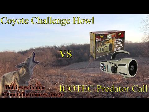 REAL Coyote Challenge Howl and Barks vs ICOTEC GC500 Predator Call