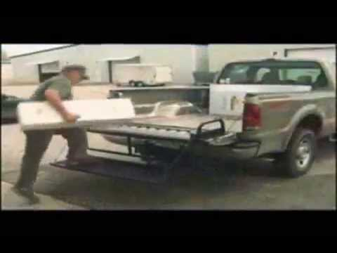 Truck Steps - Get in and out of your Truck Bed Easily
