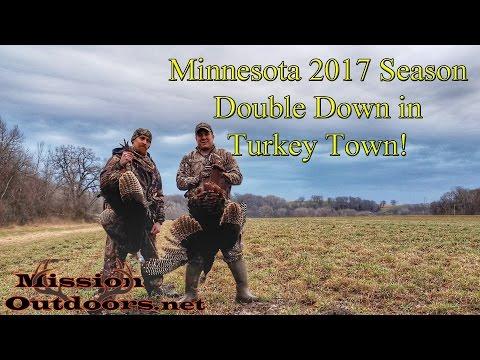Double Down in Turkey Town! - Season 3 Episode 2 - MissionOutdoors.Net