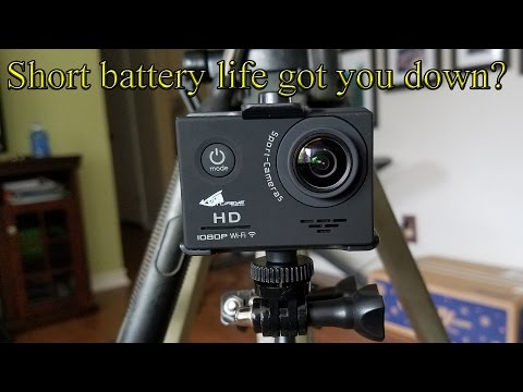 Short Battery Life on your POV or Action Cam Got You Down?