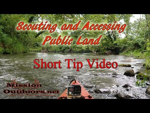 Scouting and Accessing Public Land- MissionOutdoors.Net