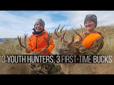 3 Hunters, 3 Kills - A Montana First-Time Deer Youth Hunt