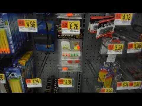 20 Dollar Walmart Icefishing Challenge Fail