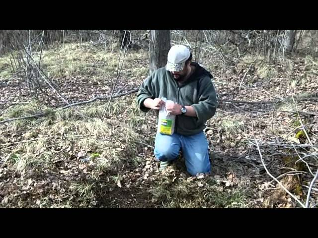 How to Make a Simple Deer Mineral Site Using Lucky 7 Trace Mineral Attractant