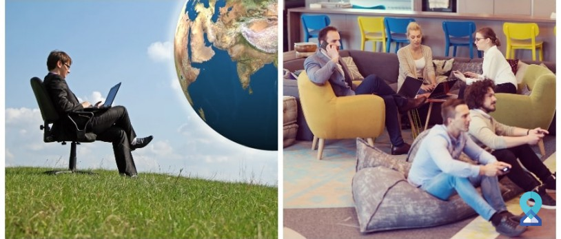 Difference Between Virtual Office and Coworking Space