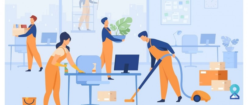 Which Are the Office Spots Which Needs to Be Cleaned Multiple Times a Day