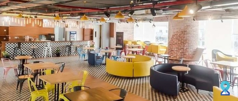 Which is good for an expanding team, coworking or traditional?
