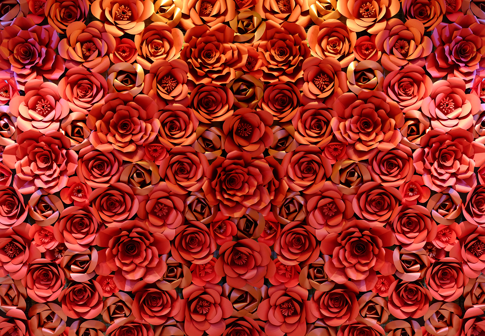 Craft dcor giant red paper flowers backdrop hweh arts giant red paper flowers backdrop mightylinksfo