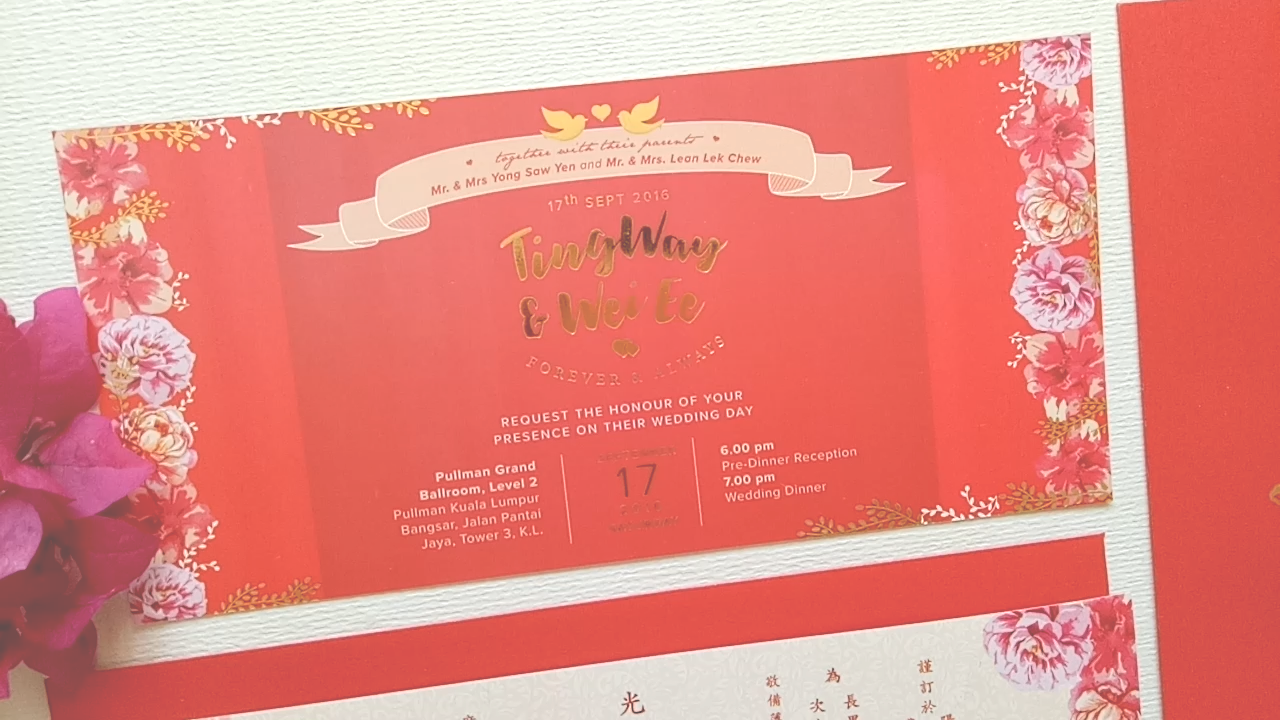 Print tw wedding invitation card design hweh arts tw wedding brushcalligraphy stopboris Gallery
