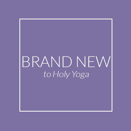 Brand New To Yoga