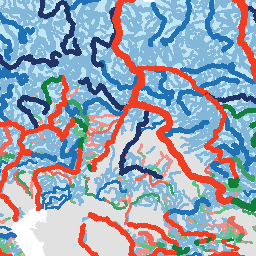 Free-flowing Rivers on downloadable world map with, printable world map with, interactive world map with,