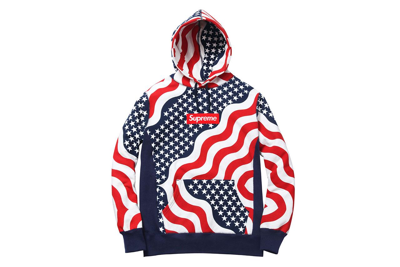 Supreme USA Box Logo Hoodie (Small or Medium)   supremeclothing e4d255f37d06