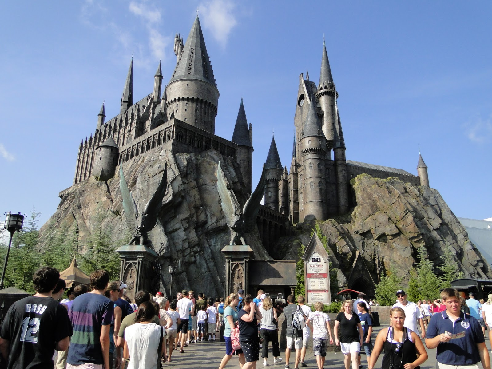 Entrada Parque Harry Potter